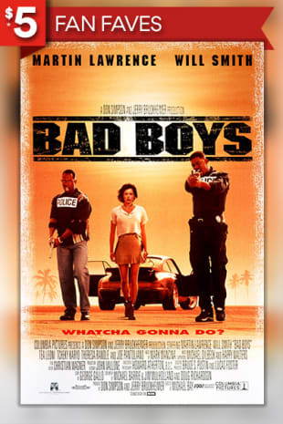 movie poster for Bad Boys (1995)
