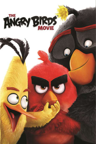 movie poster for The Angry Birds Movie