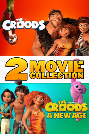 movie poster for The Croods: 2-Movie Collection