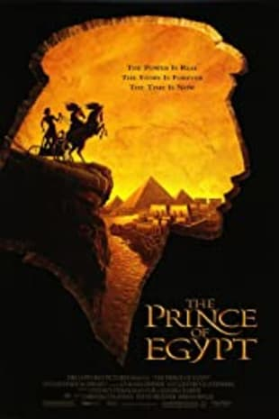 movie poster for The Prince Of Egypt