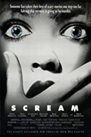 movie poster for Scream (1996)