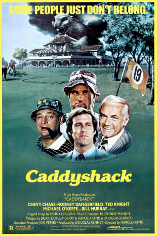 movie poster for Caddyshack