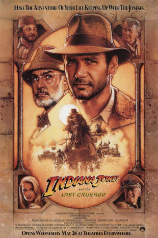 movie poster for Indiana Jones and the Last Crusade