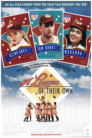 movie poster for A League of Their Own