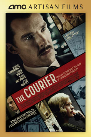 movie poster for The Courier