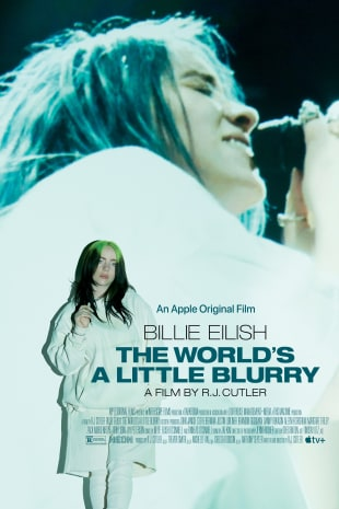 movie poster for Billie Eilish: The World's a Little Blurry