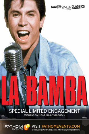 movie poster for La Bamba presented by TCM