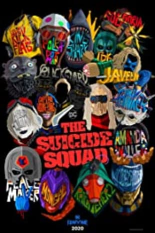 movie poster for The Suicide Squad