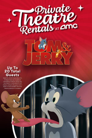 movie poster for Tom & Jerry: Private Theatre Rental for 1-20 Total Guests