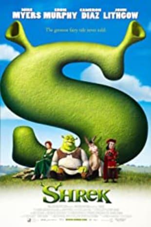 movie poster for Shrek 20th Anniversary