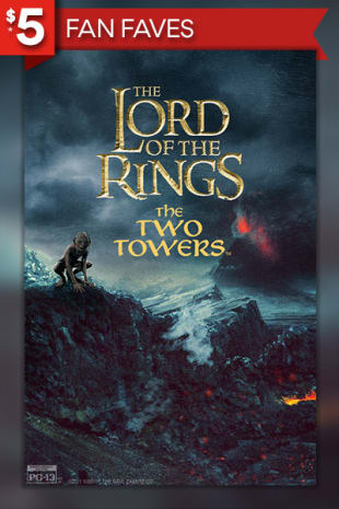 movie poster for Lord Of The Rings: The Two Towers (2002)