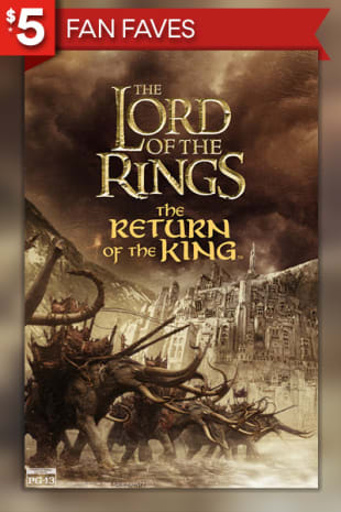 movie poster for Lord Of The Rings: The Return Of The King (2003)