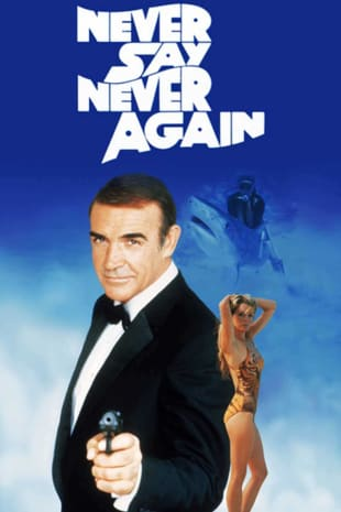 movie poster for Never Say Never Again (1983)
