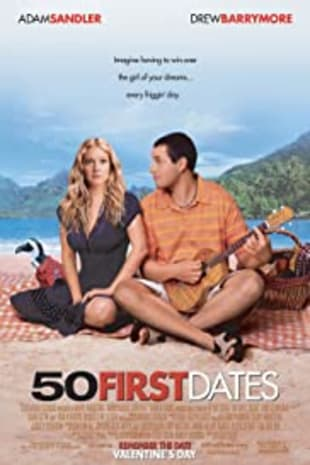 movie poster for 50 First Dates (2004)