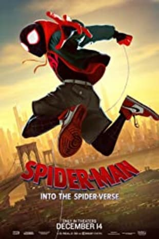 movie poster for Spider-Man: Into The Spider-Verse