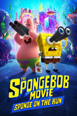 movie poster for The SpongeBob Movie: Sponge On The Run