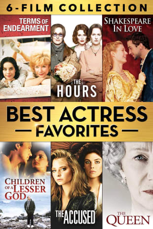 movie poster for Best Actress Favorites 6-Film Collection