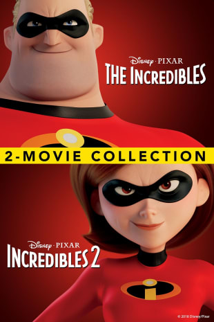 movie poster for Incredibles / Incredibles 2 Bundle