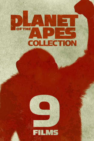 movie poster for Planet of the Apes 9-Movie Collection