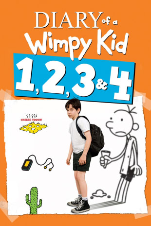 movie poster for Diary of a Wimpy Kid Collection