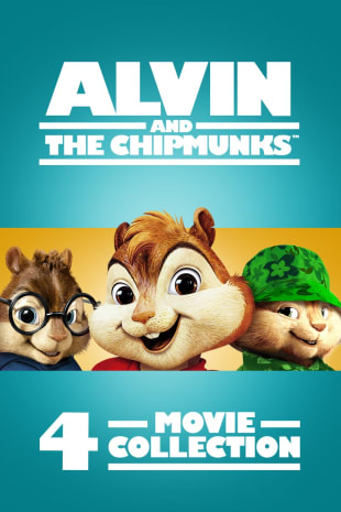 movie poster for Alvin & The Chipmunks 4-Movie Collection