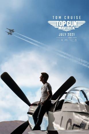 movie poster for Top Gun Maverick