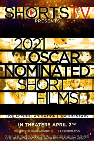 movie poster for 2021 OSCAR ANIMATED SHORTS