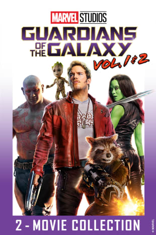 movie poster for Guardians of the Galaxy / Guardians of the Galaxy 2 Bundle