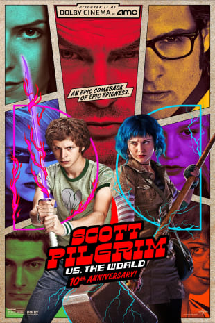 movie poster for Scott Pilgrim vs. The World