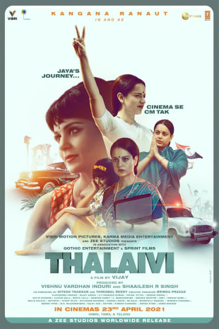 movie poster for Thalaivii