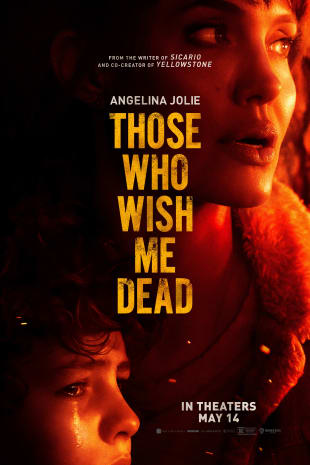 movie poster for Those Who Wish Me Dead