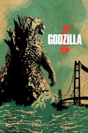 movie poster for Godzilla (2014)