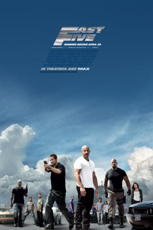 movie poster for Fast Five