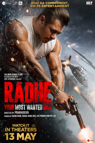 movie poster for RADHE: Your Most Wanted Bhai