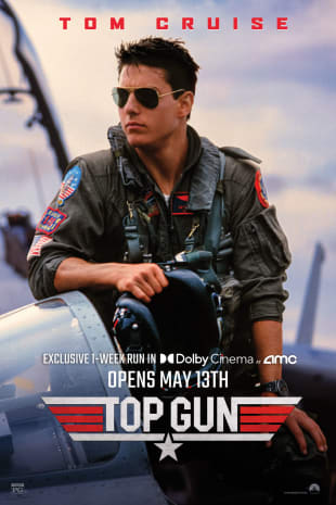 movie poster for Top Gun