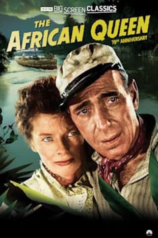 movie poster for The African Queen 70th Anniversary presented by TCM