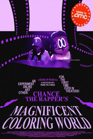 movie poster for Chance The Rapper's Magnificent Coloring World