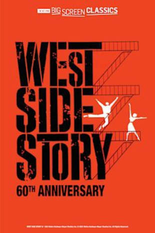 movie poster for West Side Story 60th Anniversary presented by TCM