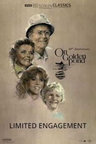 movie poster for On Golden Pond 40th Anniversary presented by TCM