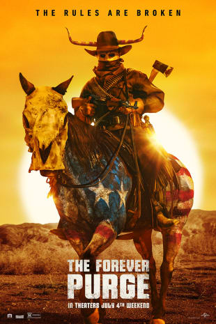movie poster for The Forever Purge