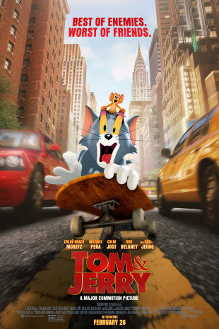movie poster for Tom & Jerry