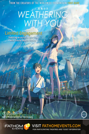 movie poster for Weathering With You (Encore)