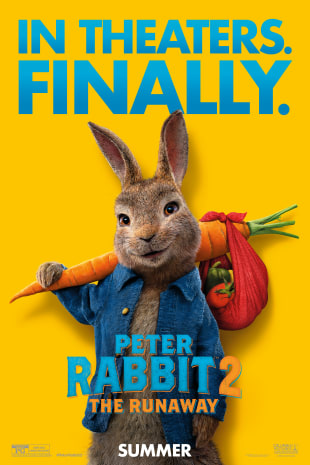 movie poster for Peter Rabbit 2: The Runaway