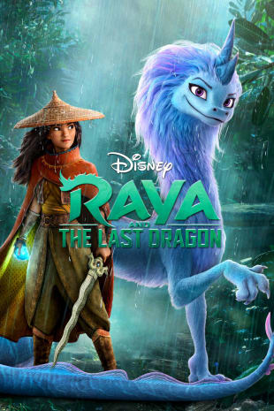 movie poster for Raya And The Last Dragon