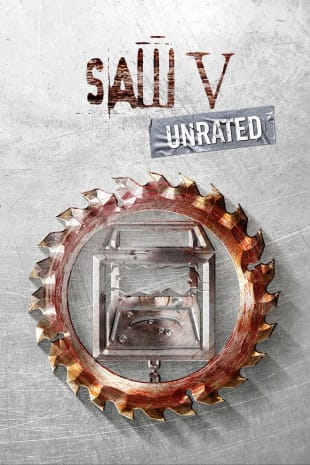 movie poster for Saw V - Unrated