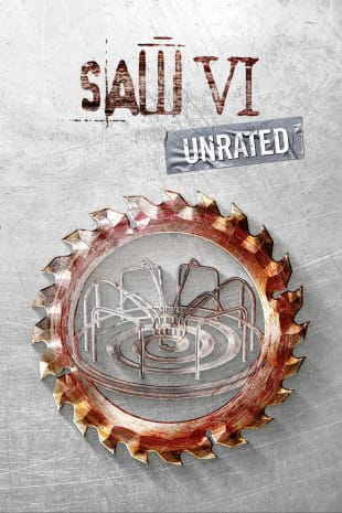 movie poster for Saw VI - Unrated