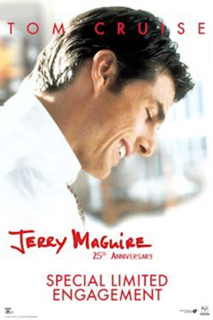 movie poster for Jerry Maguire 25th Anniversary