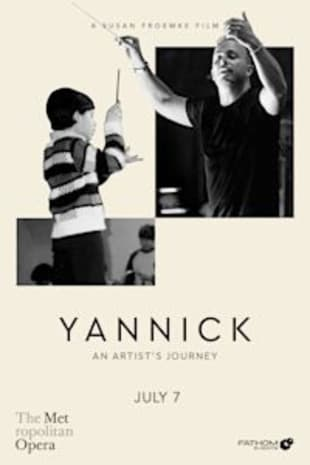movie poster for Yannick: An Artist's Journey
