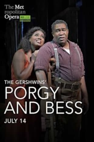 movie poster for Met Summer Encore: Porgy and Bess
