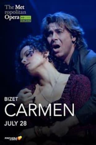 movie poster for Met Summer Encore: Carmen